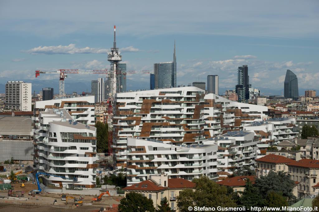 Milanofoto archivio immagini di milano 20130917 - Residenze di porta nuova ...