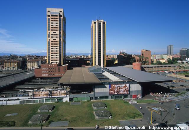 Milanofoto archivio immagini di milano 20070626 175 - Stazione porta garibaldi mappa ...